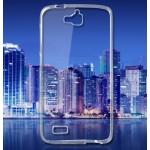 Силиконовый транспарентный чехол для Huawei Honor 3C Lite
