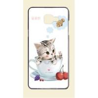 Силиконовый дизайнерский чехол с принтом для Samsung Galaxy A3 (2016)