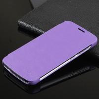 Чехол флип на пластиковой основе для Huawei Honor 3C Lite Фиолетовый