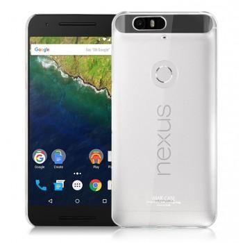 Силиконовый транспарентный чехол для Google Huawei Nexus 6P