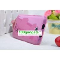 Силиконовый чехол для FLY IQ454 EVO TECH 1 Розовый