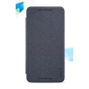 Чехол флип на пластиковой матовой нескользящей основе для Google Huawei Nexus 6P Черный