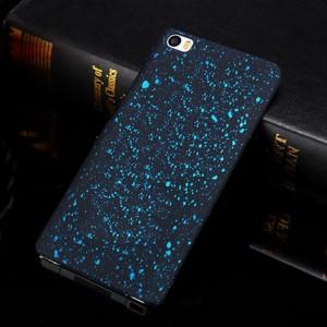 Пластиковый матовый дизайнерский чехол с голографическим принтом Звезды для Xiaomi MI5 Голубой