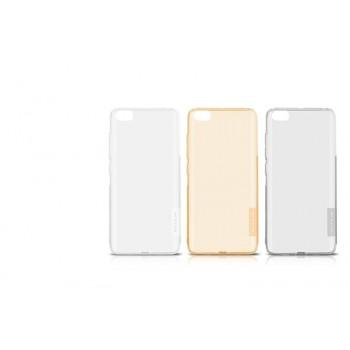Силиконовый матовый полупрозрачный чехол повышенной защиты для Xiaomi MI5