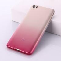 Силиконовый градиентный чехол для Xiaomi MI5 Розовый