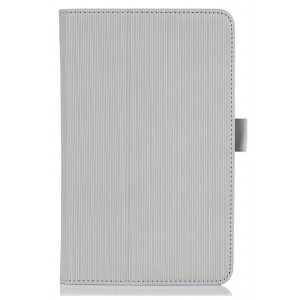 Чехол подставка текстурный с рамочной защитой для планшета Acer Iconia B1-A71 Белый