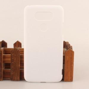 Пластиковый матовый непрозрачный чехол для LG G5