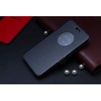 Чехол флип с активным окном и застежкой для ASUS Zenfone 5 Серый