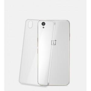 Пластиковый транспарентный чехол для OnePlus X