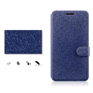 Чехол портмоне подставка на силиконовой основе с защелкой текстура Линии для OnePlus X