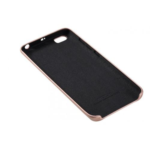 Пластиковый чехол накладка текстура Кожа для Xiaomi MI5