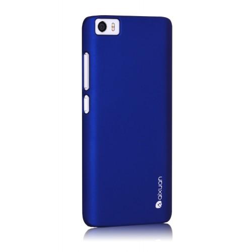 Пластиковый матовый непрозрачный металлик чехол для Xiaomi MI5