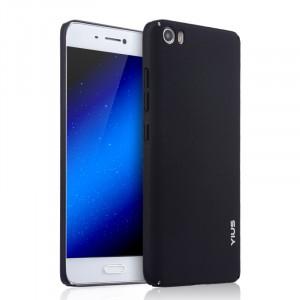 Пластиковый матовый непрозрачный чехол с улучшенной защитой корпуса для Xiaomi MI5 Черный