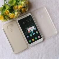 Силиконовый матовый полупрозрачный чехол для LG G5 Белый
