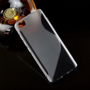 Силиконовый S чехол для Xiaomi MI5 Серый