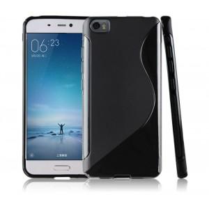 Силиконовый S чехол для Xiaomi MI5 Черный