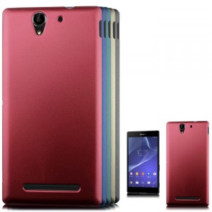 Пластиковый чехол для Sony Xperia C3 Красный