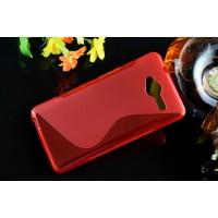 Силиконовый S чехол для ZTE Blade L3 Красный