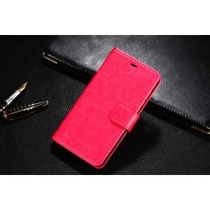 Глянцевый чехол портмоне подставка с защелкой для Xiaomi Mi4S