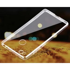 Силиконовый транспарентный чехол для Xiaomi Mi4S
