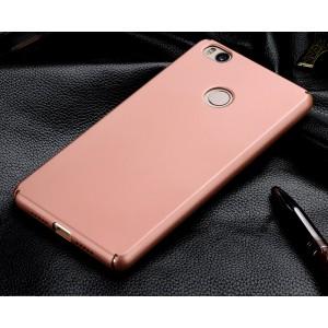 Пластиковый матовый непрозрачный чехол с защитой торцов для Xiaomi Mi4S