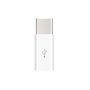 Ультракомпактный переходник Micro USB/USB type C (симметричный) текстура Металлик