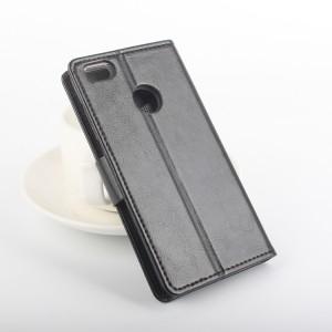 Глянцевый чехол портмоне подставка на силиконовой основе с защелкой для Xiaomi Mi4S