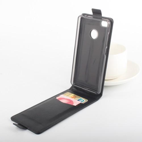 Чехол вертикальная книжка на силиконовой основе с магнитной застежкой с отделением для карт для Xiaomi Mi4S