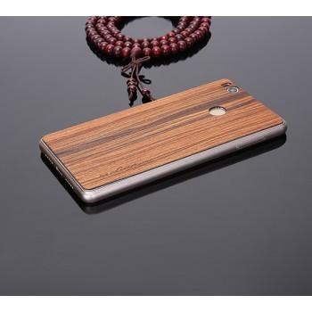 Клеевая натуральная деревянная накладка для Xiaomi Mi4S
