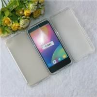 Силиконовый матовый полупрозрачный чехол для Xiaomi MI5 Белый