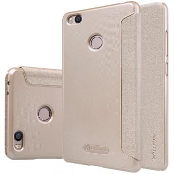 Чехол флип на пластиковой матовой нескользящей основе для Xiaomi Mi4S