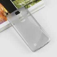 Силиконовый S чехол для LG K8 Серый