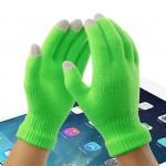 Осенние хлопковые-акриловые сенсорные (трехпальцевые) перчатки серия Color Xplosion