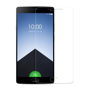 Ультратонкое износоустойчивое сколостойкое олеофобное защитное стекло-пленка для OnePlus 2