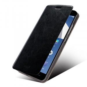 Чехол флип подставка на силиконовой основе водоотталкивающий для OnePlus 2