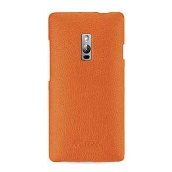 Кожаный чехол накладка (нат. кожа) для OnePlus 2