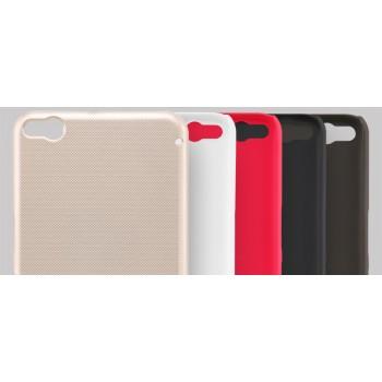 Пластиковый матовый нескользящий премиум чехол для HTC One X9