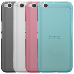 Силиконовый матовый полупрозрачный чехол для HTC One X9