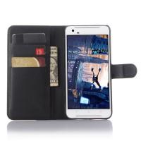 Чехол портмоне подставка с защелкой для HTC One X9 Черный