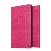 Чехол подставка на поликарбонатной основе текстура Дерево для Ipad Mini 4 Пурпурный