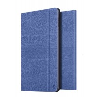 Чехол подставка на поликарбонатной основе текстура Дерево для Ipad Mini 4 Синий