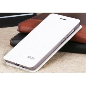 Чехол флип подставка на силиконовой основе текстура Соты для Xiaomi RedMi 3 Pro/3S Белый
