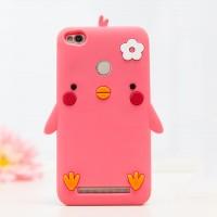 Силиконовый дизайнерский фигурный чехол для Xiaomi RedMi 3 Pro/3S Пурпурный