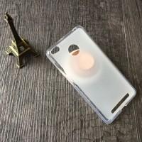 Силиконовый матовый полупрозрачный чехол для Xiaomi RedMi 3 Pro/3S Белый
