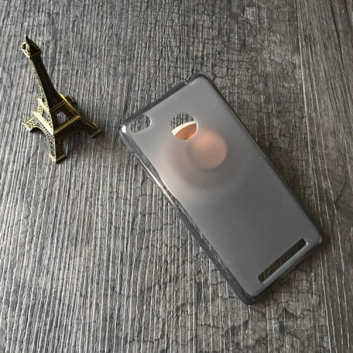 Силиконовый матовый полупрозрачный чехол для Xiaomi RedMi 3 Pro/3S Голубой