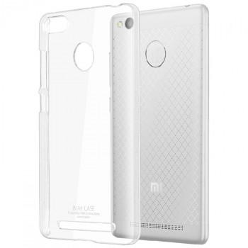 Пластиковый транспарентный чехол для Xiaomi RedMi 3 Pro/3S