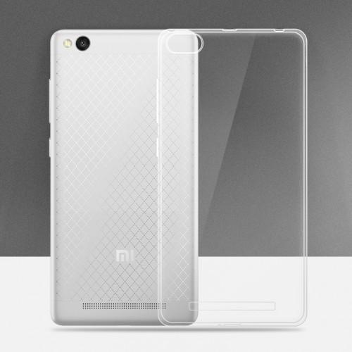 Силиконовый транспарентный чехол для Xiaomi RedMi 3 Pro/3S