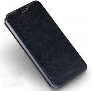 Водоотталкивающий чехол флип подставка на силиконовой основе для Samsung Galaxy J7 (2016) Черный