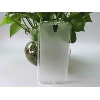 Силиконовый матовый полупрозрачный чехол для Lenovo Vibe S1 Белый