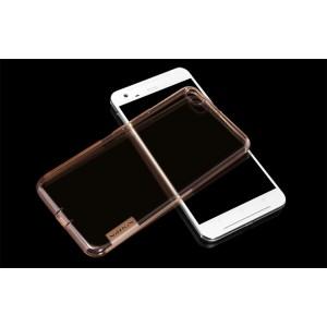 Силиконовый матовый полупрозрачный чехол повышенной защиты для HTC One X9